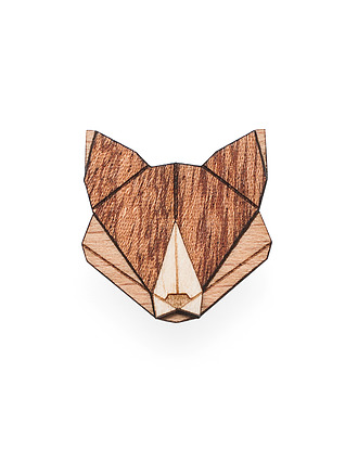 Broszka Fox Brooch