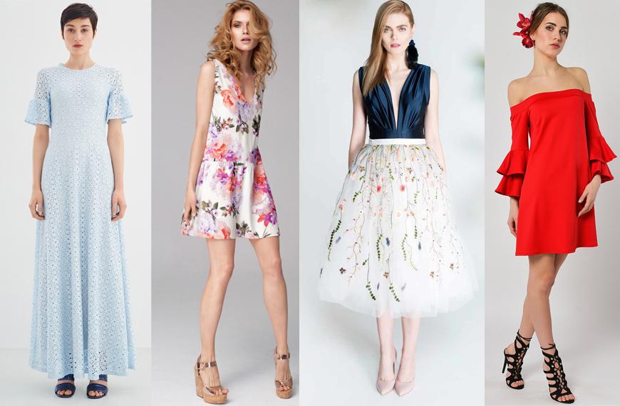 cc52b4d8fc Pierwsza opcja dla ślub w rodzinie to długa sukienka w bardzo modnym  odcieniu pastelowego błękitu marki ECHO. Krój sukienki sprawdzi się niemal  na każdej ...