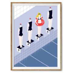 Siła jest kobietą - wystawa ilustratorek z platformy PAKAMERA.pl