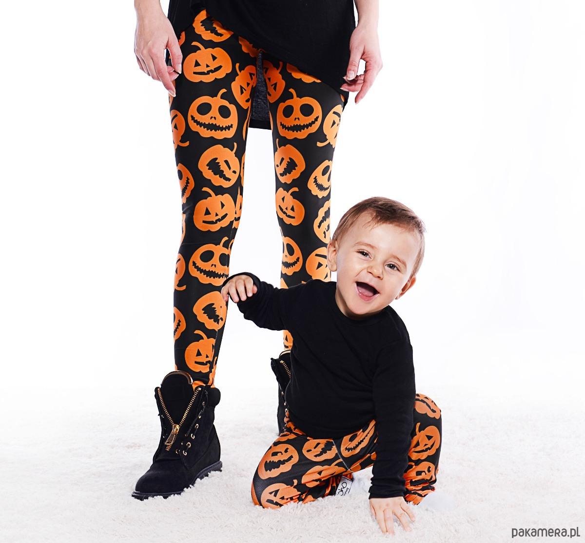 strój na halloween dla mamy i dziecka
