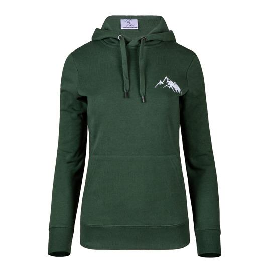 Tatra Art bluza damska hoodie green góry