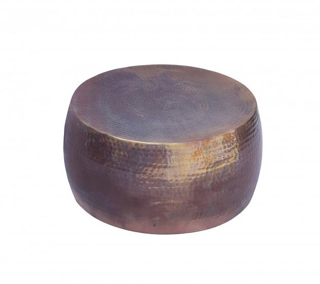 Stolik kawowy Icon miedziany podpalany 60cm
