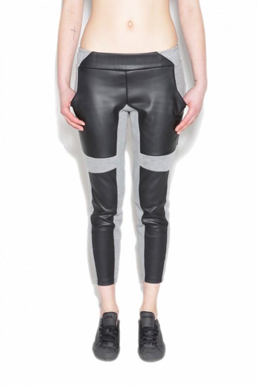 Spodnie dresowe - Contrast Line