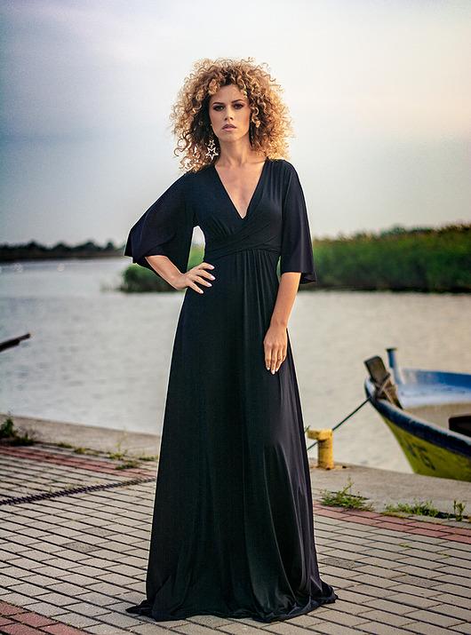 Magdalena Maxi Black
