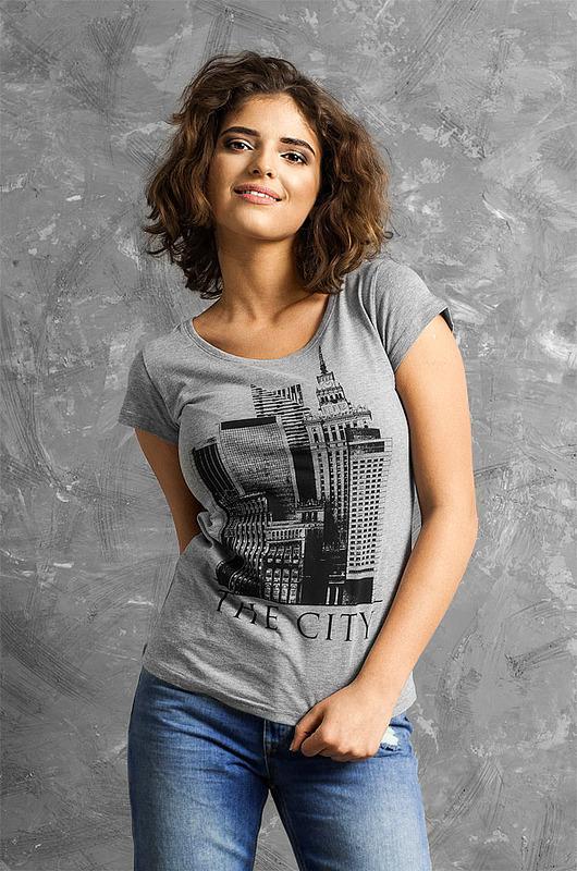 T-shirt damski THE CITY
