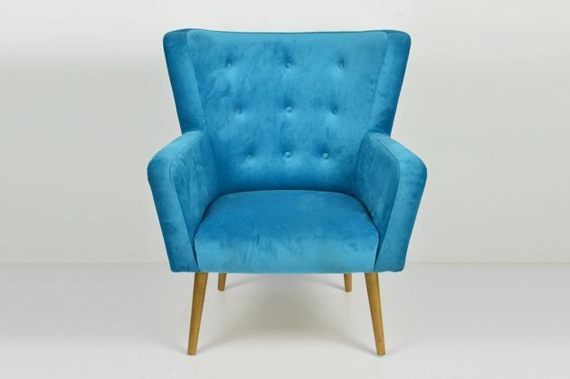 Fotel N01 - cocktailowy, kubełkowy, klubowy