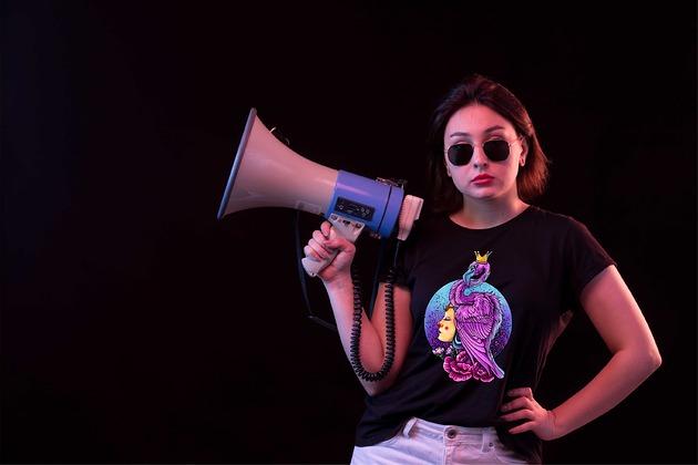 Koszulka damska organiczna Queen