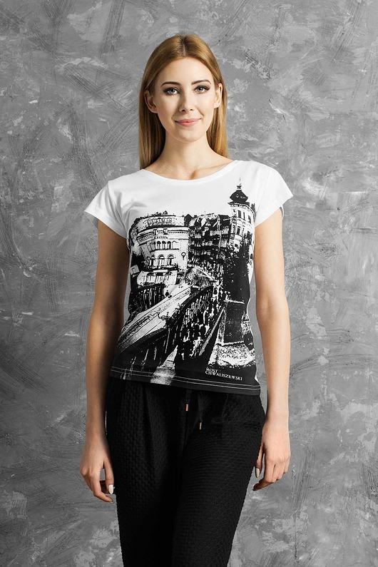 T-shirt damski MOST CHWALISZEWSKI