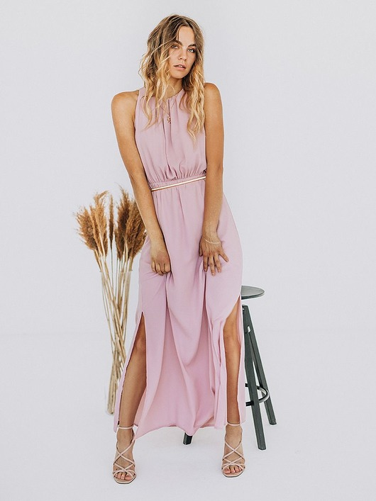 Sukienka Maxi Dalia Różowa