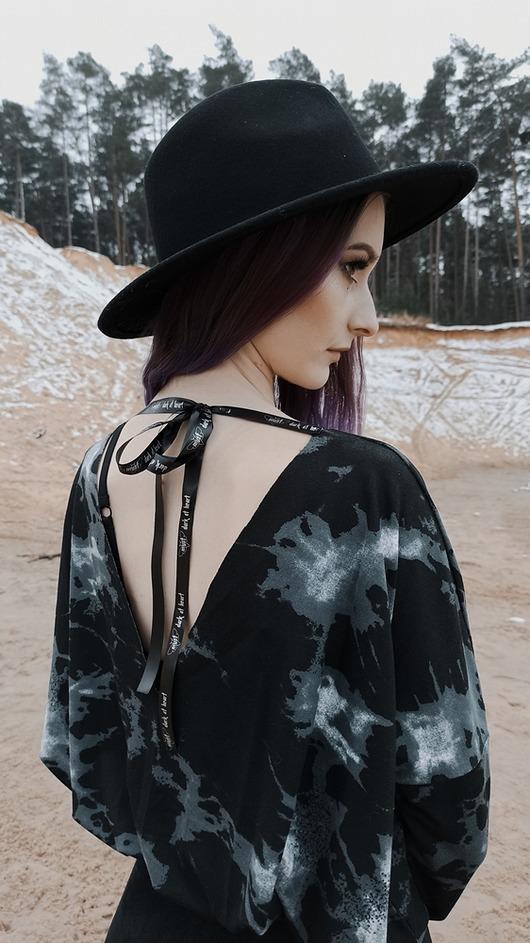Bluzka / tunika Obsidian