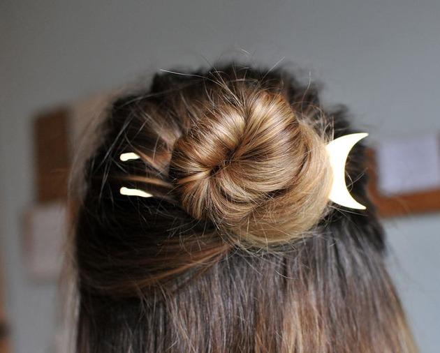 Spinka do włosów KSIĘŻYC