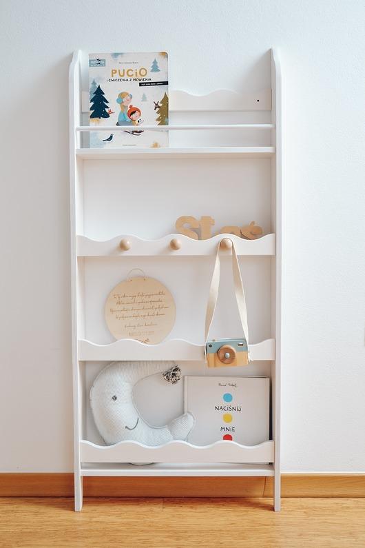 Regał na książki i zabawki FALBANKA