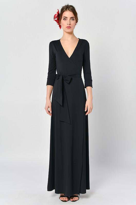 Kava-kava - kopertowa sukienka maxi