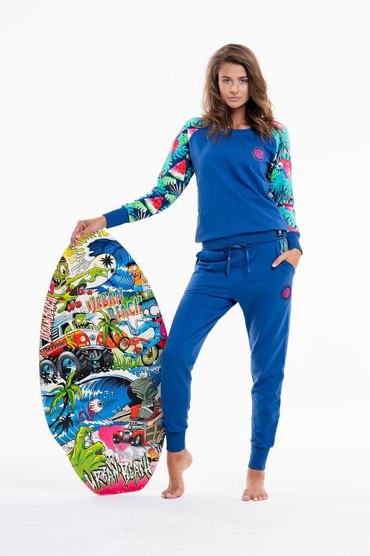 Spodnie Shaka Blue Parrot&Watermelon