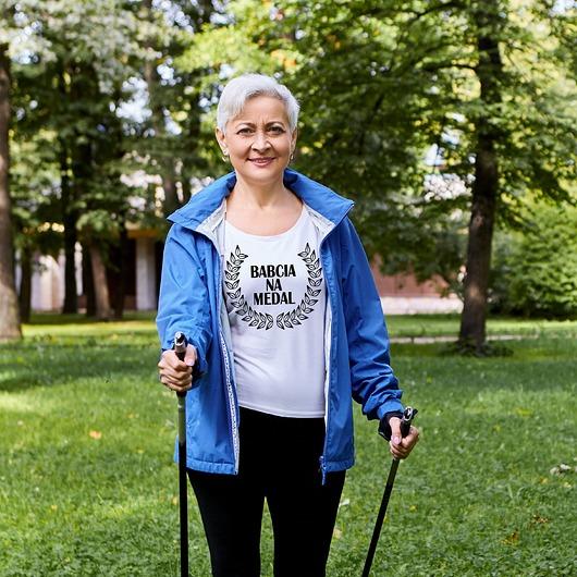 Koszulka damska Babcia na medal