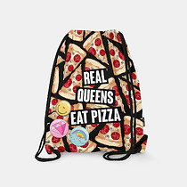 REAL QUEENS EAT PIZZA